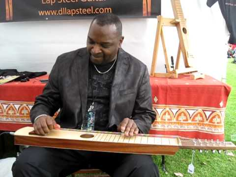 Chuck Campbell and DL Lap Steel 12 String at Doheny Blues 2011