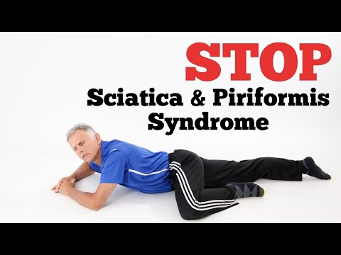 90 Second Exercise to STOP Sciatica & Piriformis Syndrome In Bed