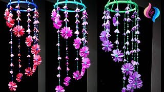 Paper wind chimes - How to make wind chime out of paper - Handmade paper wind chime