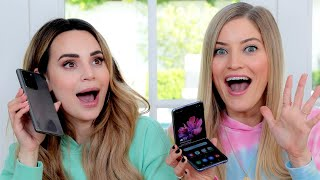 Gambar cover Ro Reacts to new Samsung Phones - ZFlip and Galaxy S20 Ultra