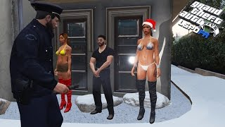 GTA 5 LSPDFR - Naked Party Crashers
