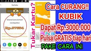 Download Video KAYA!! Cara Curang Main KUBIK Dapat 3 Juta dan Pulsa GRATIS tiap hari.. MP3 3GP MP4