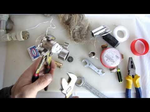 ленту пластиковую на резьбу наматывать 25 оборотов это замена льна для сантехников,