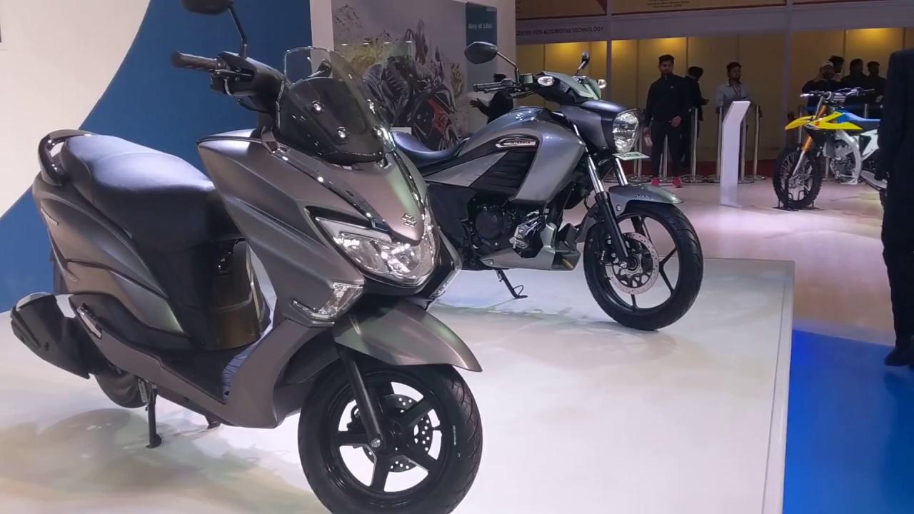 Suzuki Burgman Street Scooter For India Auto Expo 2018 Iamabiker