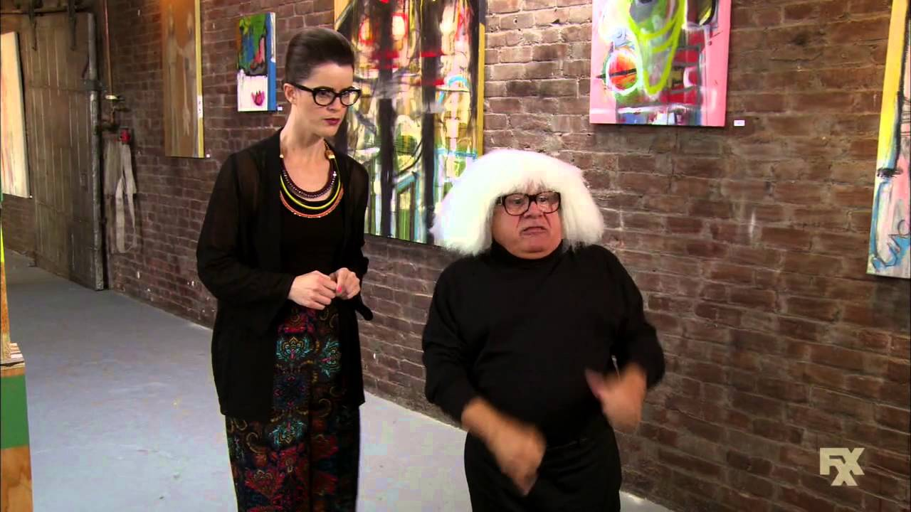 Its Always Sunny In Philadelphia Frank As An Art Collector Ango
