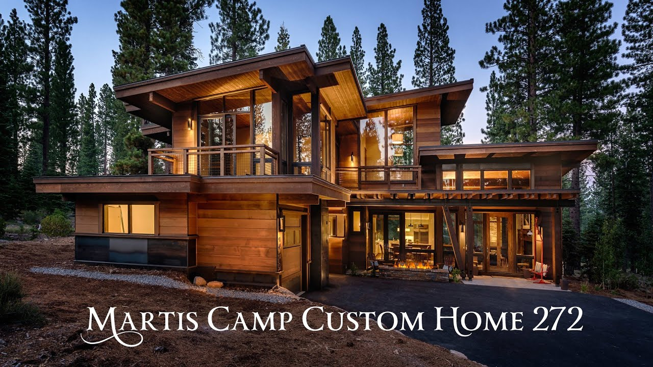 Martis camp custom home 272 sold youtube for Custom home plans online