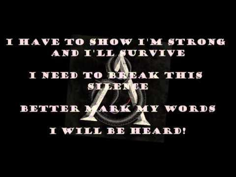 Bullet For My Valentine Broken Lyric Video Youtube