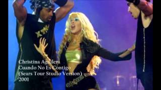 Christina Aguilera - Cuando No Es Contigo (Live Sears & Levis Tour Studio Version)
