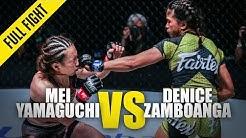 Mei Yamaguchi vs. Denice Zamboanga | ONE Full Fight | February 2020