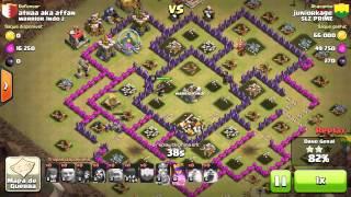 Clash of clans- TOP 3 ATAQUES- WAR/ SLZ PRIME #1