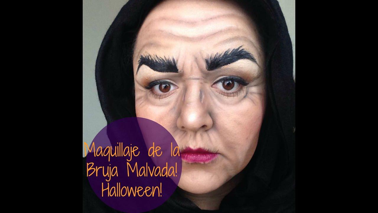 maquillaje bruja malvada