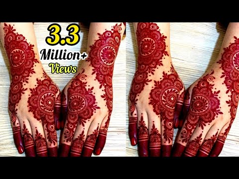 Latest Gorgeous Bridal Mehndi Design || Wedding Mehndi Designs 2020 || Artistic Henna By Saima