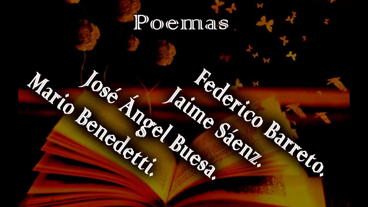 Lectura de poemas en voz alta.