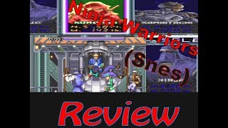 Ninja Warriors (Snes) Review