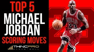 Top 5 - MICHAEL JORDAN Basketball Moves to BREAK Defenders and Score More Points like MJ!