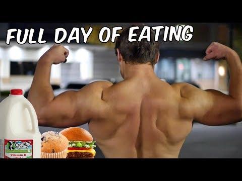 Full Day of Eating (Dirty Bulk) | Trying Calisthenics & Arm Workout