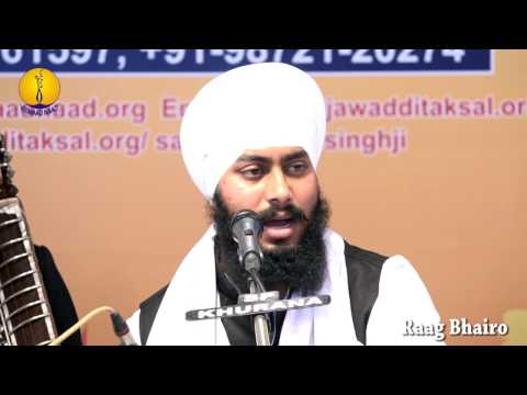 25th AGSS-2016:  Raag Bhairo Bhai Tarsem Singh Ji Student of Jawaddi Taksal