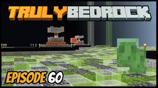 Easy Triple Chunk Slime Farming! - Truly Bedrock (Minecraft Survival Let's Play) Episode 60