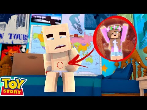LITTLE KELLY DOLL IS EATEN BY A BABY | Minecraft Toystore