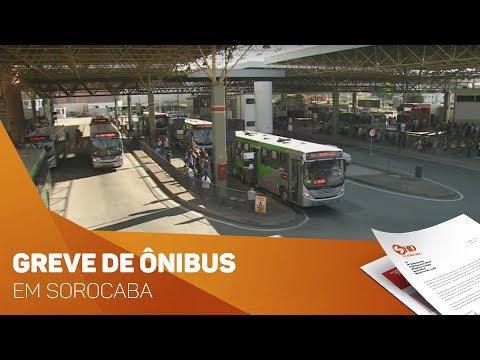 Passageiros sofrem com greve de ônibus em Sorocaba - TV SOROCABA/SBT