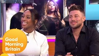 Stars of Chicago: Alexandra Burke and Duncan James Talk About Their Chemistry | Good Morning Britain