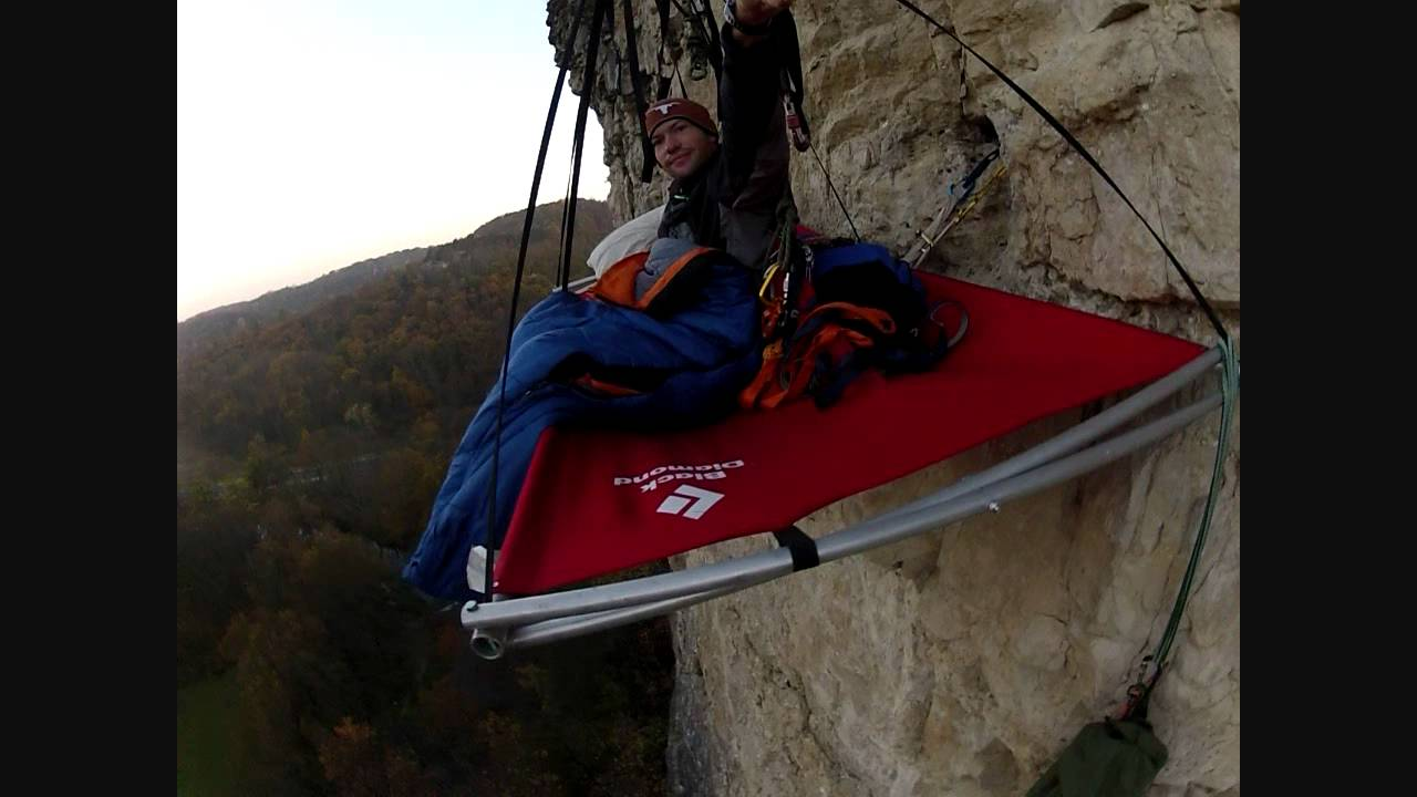& A night on a Portaledge - YouTube