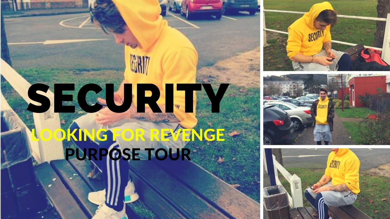 Sweat Purpose Tour Security VFILES Looking For Revenge Fear Of God