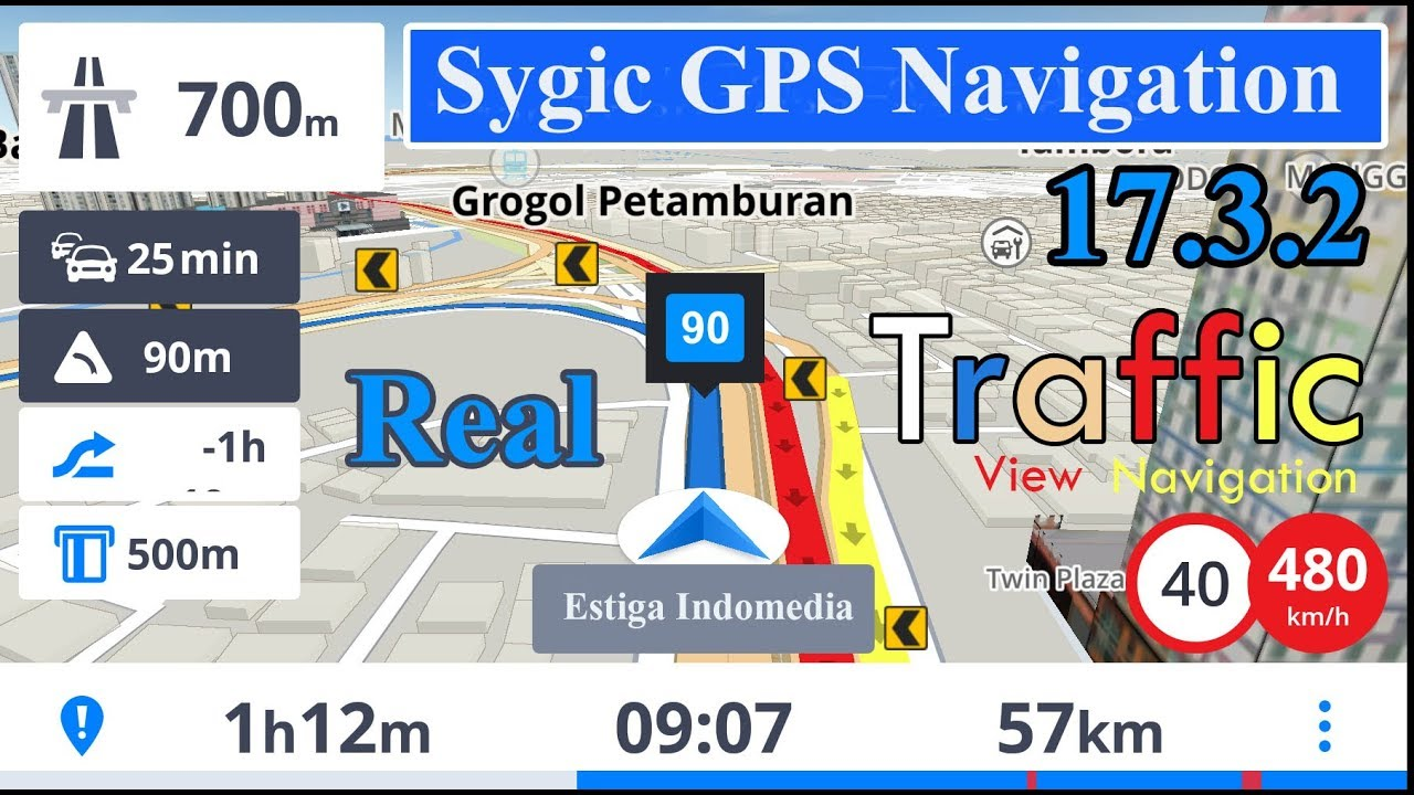 [ How To ] SYGIC 17 3 2 Real Traffic & View Navigation | Maps 2017 Free