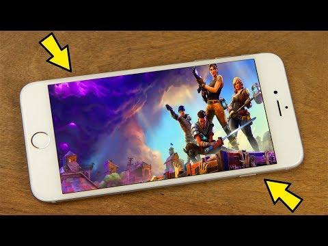 Fortnite Fake Auf Dem Android Handy Spielen