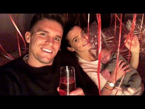 Gaz Beadle Valentine's Day surprise for Emma McVey | Snapchat Videos | February 14 2018