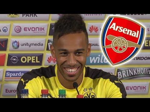 Pierre Aubameyang Says Henrikh Mkhitaryan Told Him To Join Arsenal*