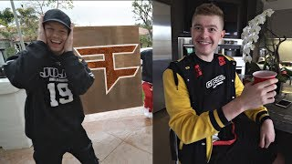 Moving into the FaZe Gaming House