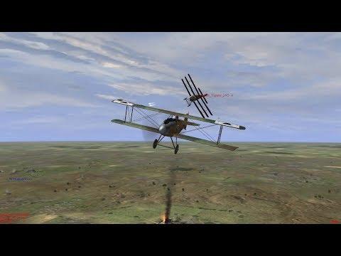 IL-2 1946: Fight for air superiority Albatros D.I versus Sopwith Triplane