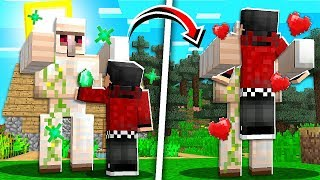I Made Friends with an IRON GOLEM in Minecraft 1.14! - Episode 12