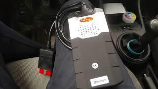 Автосканер Delphi Autocom, пример диагностики на авто