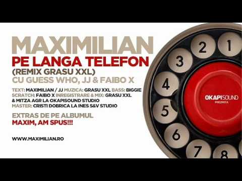 Maximilian- pe langa telefon