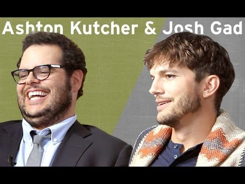 Ashton Kutcher & Josh Gad Interview | Larry King Now | Ora TV