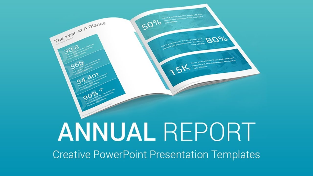 best annual report powerpoint presentation templates designs - youtube, Presentation templates