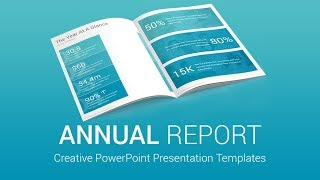 Gambar cover Best Annual Report PowerPoint Presentation Templates Designs