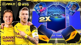 2x TOTGS PACKED! THIS PACK LUCK... | FIFA 21 REUS TO GLORY #19