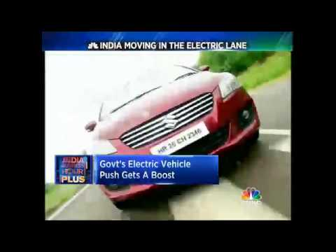 Govt's Electric Vehicle Push Gets A Boost