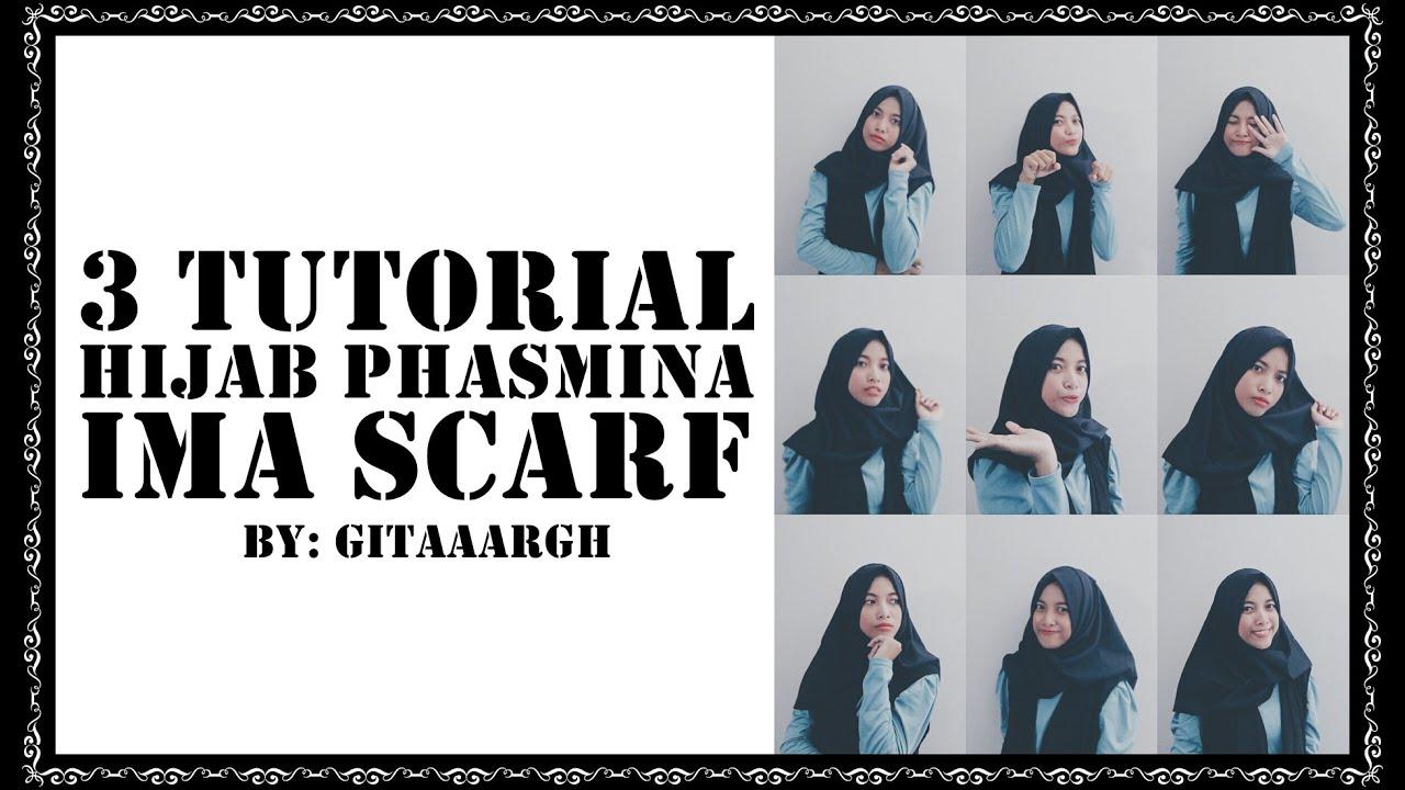 3 Hijab Tutorial Pashmina Ima Scarf 1 Youtube