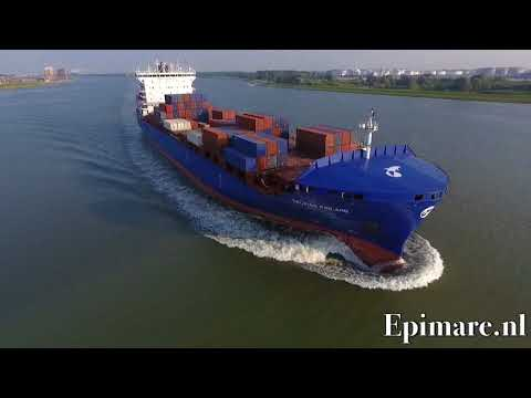 Container ship Delphis Finland