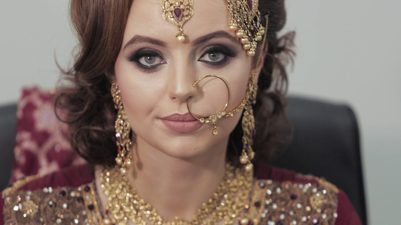 aisha iqbal mua asian bridal look - youtube