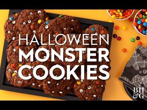 Halloween Monster Cookies | Fun With Food | Better Homes & Gardens