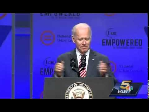 Biden at National Urban League: I Should Have Had a Republican Kid