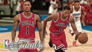 Finals D-Rose! NBA 2K19 Derrick Rose My Career Ep. 43