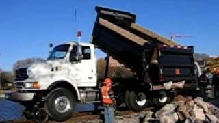V&H Trucks Rotary Dump: Dumping