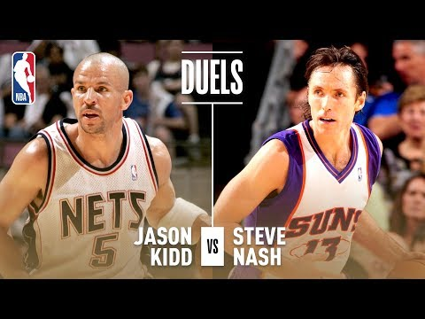 Best of Steve Nash and Jason Kidd Assists