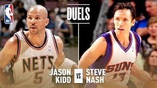 Best of Steve Nash and Jason Kidd Assists